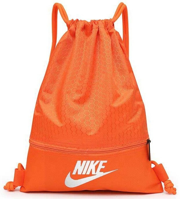 Túi Thể Thao Nike [Túi Dây Rút] Màu Cam Size Lớn